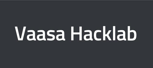Vaasa Hacklab: 3D-skannerin ja 3D-kuvantamisohjelman kehitys